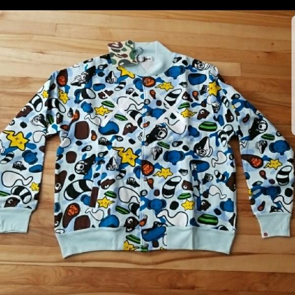 b56d845f4047 Bape Other - Bape   Ape Baby Milo Varsity Jacket